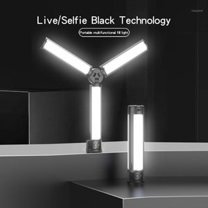 Three-color Fill Light Photographic Lighting Wireless Remote Control Photography Rechargeable Multifunctional Fold Beauty Lamp1