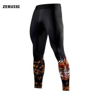 ضغط السراويل الجري السراويل الرجال التدريب اللياقة الرياضية الرياضية طماق رياضة الركض السراويل الذكور اليوغا قيعان Y200701