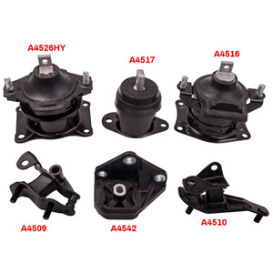 6Pcs Engine Motor & Transmission Mount Set for Honda Accord 2.4L L4 2003-2007 for Automatic Trans for A4526HY A4516 A4517 A4542 A4509 A4510