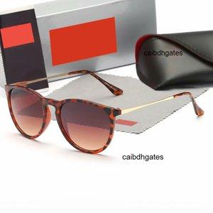 Gläser weibliche braune Sonnenqualitätsdesigner Polarisierte Sonnenbrille 4171 Black Vintage Retro Genius Freitag Black Friday Spiegelung Eyewear WOM GTIQ