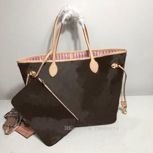Hediye çantası ile kadın çanta deri tam omuz çantaları moda bayanASLATote Kitap Totes Baskı Çiçekler Asla Çanta 2021