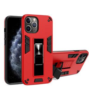 Pour Iphone 12 cas de téléphone invisible support accessoires magnétiques de téléphone mobile Couverture arrière Couverture arrière de cas de téléphone pour Iphone 12 pro max