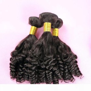 Virgin Human Hair Bundles Brazilian Human Hair Weaves Funmi Wefts 8-34Inch Unprocessed Peruvian Indian Mongolian Bulk Human Hair Exensions