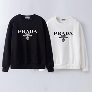 Marca Fashion Designer Inverno Hoodies dos homens dos crânios Pedrinhas Long Sleeve camisetas Modal Algodão O Neck manga curta Magro Hoodie Prada Prad