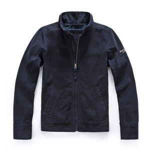 2021 Hot sell new Europe Autumn Back Paris Embroidery logo Print Washing Old jacket Men Denim Jacket Vintage Streetwear Coat