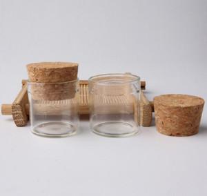 5g Малый Стеклянные бутылки пробками стопоры 5мл высокого качества Стаканы / Glas Jar Mini Test Tube Lx6050