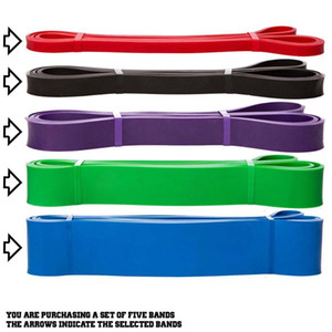 Resistance-Band Expander Exercise Stretch Pull-Up Fitness-Training Pilates Home-Workout 208cm Elastic Band Assist Bands
