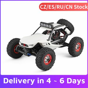 WLtoys XK 12429 1:12 RC Car Crawler 40km h High Speed 2.4G 4WD Electric Car with Head Lights RC Off-Road Car RC Gift 201103