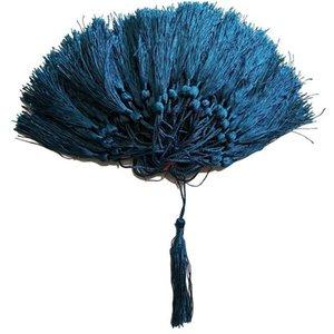 100pcs Lot 32 Couleurs Tassel Silk Fringe Pompon Garniture Décoratif Globusels Pour Couture Rideaux Vêtements Accueil Décoration Accessoires H Bbykzt