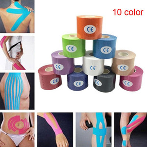 5M Sports Elastic Kinesiology Tape Roll Physio Muscle Strain Support Tool ED-shipping