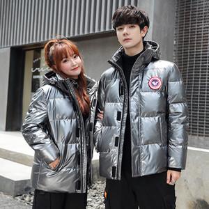 Канада мода гусиная пуховика мужская и женщины 2020 зима новая капюдра повседневная одежда для любителей пальто