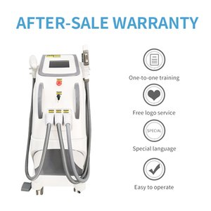 New Design Multifunctional 3 In1 beauty machine for Tattoo removal&Hair removal&Skin Rejuvenation OPT IPL SHR+Nd Yag laser+RF