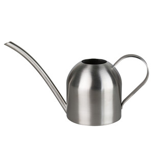 Long Mouth Watering Can Stainless Steel Color Mini Type Waters Flowers Sprinklers Gardening Succulent Plants Water Kettles 35sh L1