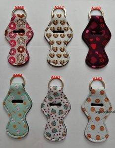 New Design Chapstick Keychains Lipstick Portachiavi Portachiavi a labbra Portachiavi Catena chiave con 175 modellaslqgr