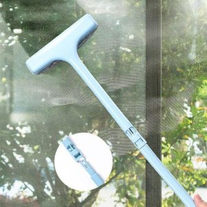 High Quailty New PP Handle Window Brush Soft Cleaner Glass Wipe Windows Squeegee Brushes Home Cleaning Tools