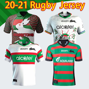 20 201 New South Sydney Rabbitohs Anzac Indigenoso Rugby Jersey 2020 2021 Top Nice Rugby League Jerseys Australia Maillot de Rugby Shirt