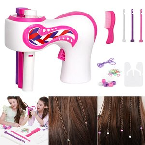 Cabello trenzado Artefacto Automático Easy Braids Playset DIY Electric 3 Twist Hair Brayed Kit BM88 Q0115