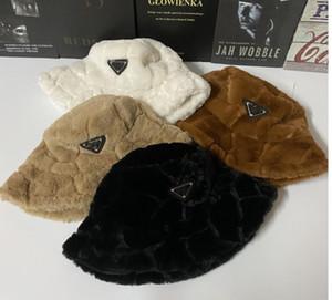 Yeni Kış Kova Şapka Moda Erkekler Kadınlar Sıcak Şapkalar Vintage Faux Kürk Balıkçı Kap