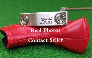 Putter Başörtüsü Gerçek Resimler İletişim Seller + Üst Kalite Özel NP 2 Golf Putter Çıkarılabilir Ağırlıklar