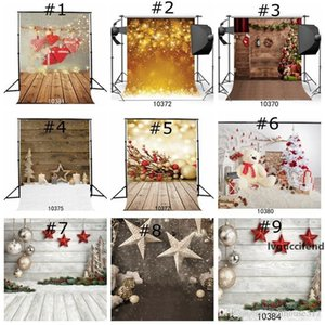 Christmas Hat Backdrops for Photography Wood Background christmas tree Wallpapers for Party Event Home Decor Wallpapers for Xmas