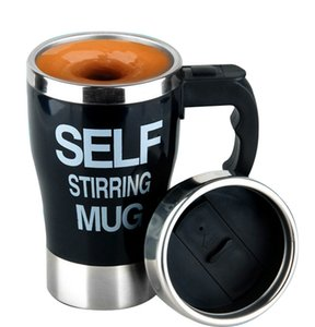Copa auto agitación taza de café eléctrico automático del café mezclador eléctrico de la taza de mezcla Beber termo Copa mezclador EEA2163-2