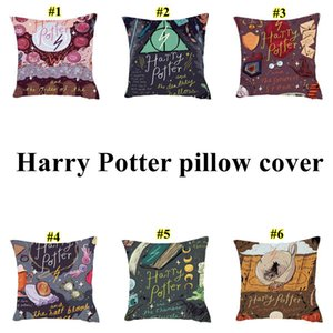 Harry Potter fronha o Cálice de capas de almofada fogo Abraço Pillowcase sofá do escritório cintura caso Início Car Pillow 45 * 45 centímetros DHD2175