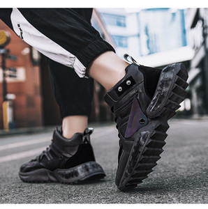 Walking Shoes Tripe Black White Grey Two Color Mens Running Shoes Athletic Flat Trainers Lightweight Zapatos Sneakers Chaussures size 39-44