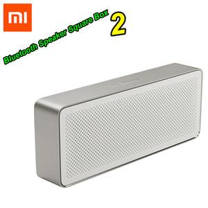 الأصلي xiaomi mi بلوتوث المتكلم مربع مربع 2 ستيريو المحمولة بلوتوث 4.2 hd عالية الوضوح جودة الصوت اللعب الموسيقى LJ200911