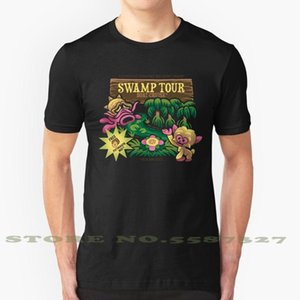 Zelda Deku Fashion Mask Vintage T-shirts T-shirts N64 Zelda marais Mojo tour Octorok tour Scrub singe marais Majoras Oplal
