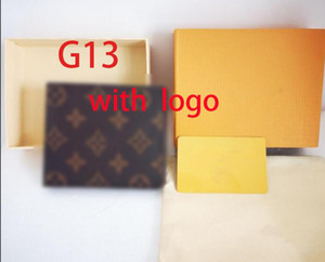 2020 new L bag Free shipping billfold High quality Plaid pattern women wallet men pures high-end luxury s designer L wallet with box handbag