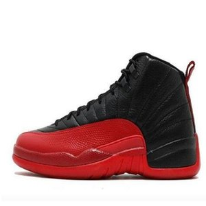 Hot Selling Cny 12 Game Flu 12s Jumpman Basketball Shoes Gamma Blue Playoff Wings Dark Grey Mens Trainer Shoes Us7 -13 with logo
