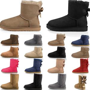 luxury Designer Boots Botas para mujer Botines para la nieve Zapatos Doc Zapatos Martin Zapatillas Triple Negro Blanco Rojo Verde Azul Hombres Mujeres Botas de invierno Chaussures