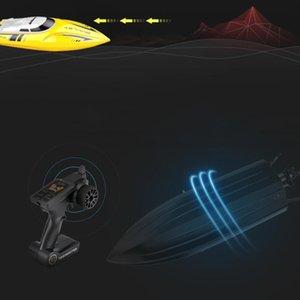 2.4Ghz Uzaktan Kumanda Tekne Yüksek Hızlı Sürat teknesi Su Oyuncak Tekne Kablosuz Kürek Tekne Uzaktan Kumanda Yat Güç RC Kürek
