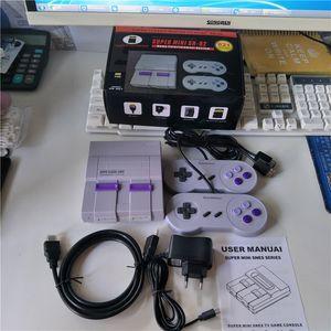 Fuente de la fábrica NUEVO SN-02 821 Mini más caliente clásica tarjeta original del TF clásico retro HD NES SFC HDMI a cabo consola de juegos TV Video Infancia
