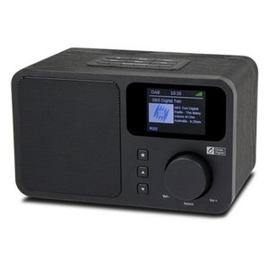 Internet WiFi Radio, Portable with Rechargeable Battery Bluetooth Receiver with Color Display Support UPnP and DLNA