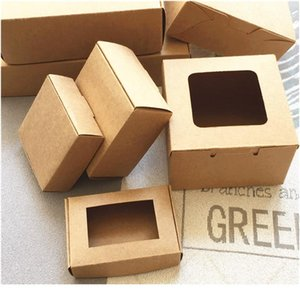 24pcs lot 24 Sizes Big And Small Kraft Cardboard Packing Gift Box Handmade Soap Candy For Wedding Decorations Eve wmtFpX