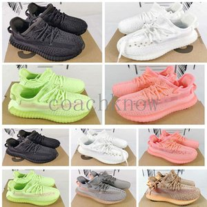 Hot Kids Running Shoes Pharrell Williams Sample Yellow Core Black children Sports Shoes Sneakers baby birthday gift Size24-35 F5SF6