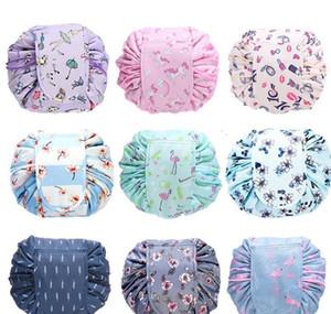 11styles Drawstring Cosmetic Bag Women Lazy Cosmetic Bags Sundry Storage Organizer Travel Makeup Pouch Toi jllBfh lajiaoyard