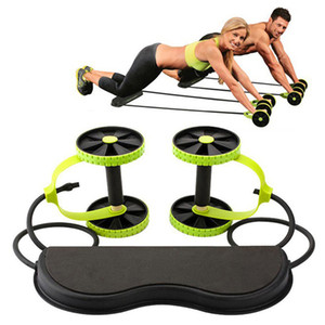 AB Roues Roller Stretch Stretch Résistance abdominale Tool Tool Tool Tool Abdominal Muscle Trainer Exercice Home Fitness Equipment