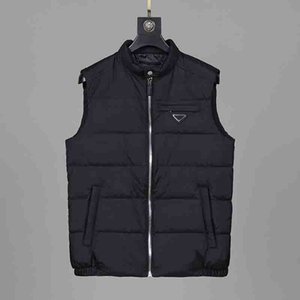 Mens Down Vests Casual Stand Collar Sleeveless Parkas Men Thin Warm Vest Coat High Quality Mens Clothing with Inverted Triangle 3 Colors