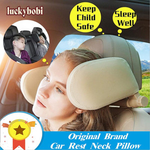Car Seat Headrest Pillow Travel Rest Neck Pillow Support Solution For Kids Pillow And Adults Auto Seat Head Cushion Car by sea GGE2194