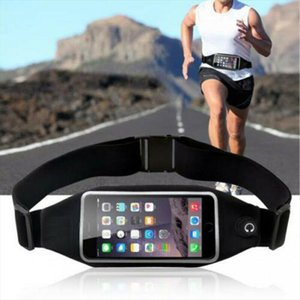 waist bag Waterproof Sport Runner Waist Bag Running Jogging Belt Bag Pouch Zip Fanny Pack BY