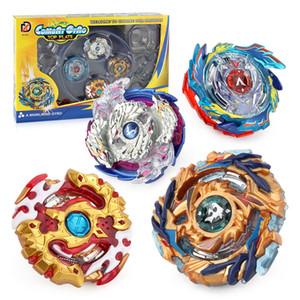 Toy Beyblade Beyblade Burst Bricolage Spinning Beyblade Metal Fusion avec Battle Set poignée de compétition disque Launcher Cadeaux jouets pour enfants