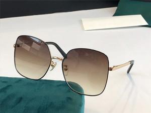 0704 Yeni Gelişmiş Moda Güneş Gözlüğü Bağlı Lens Büyük Tam Çerçeve Güneş Gözlüğü Popüler Goggles En Kaliteli Koruyucu Kapakla Geliyor