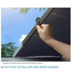 46/65 / 70 cm Araba Cam Perde Katlanır Araba Sunshade Kapak Yansıtıcı Anti-UV
