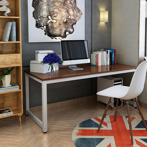 Компьютерный стол рабочей станции ПК ноутбук для ноутбука мебель домашнего офиса изучать деревянный тик
