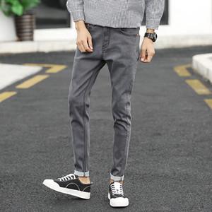 erkekler için HCXY marka 2020 yeni erkek rahat kot pantolon