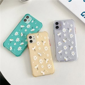 Clear Phone Case For iPhone 11 6 6s 7 8 Plus 11 Pro XS Max XR X Daisy Flowers Soft Silicone Cover Back Cases Wholesale Promotion now