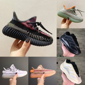 Nuovi Baby Kids Shoes V2 Wave Runner 700 V3 Scarpe da corsa Ragazza Boy Toddler Trainer Sneakers Bambini Scarpe Atletica Black Grey