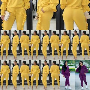 Ugoyn S3242 Donne Autunno e Autunno e Autunno Stitching Stitching Ed Ed Ed Ed Ed Ed A due pezzi Set a maniche lunghe S3242 Autunno e inverno Autunno e inverno Eight Suit Eight